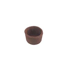 Base para mini torta chocolate - circular 4cm