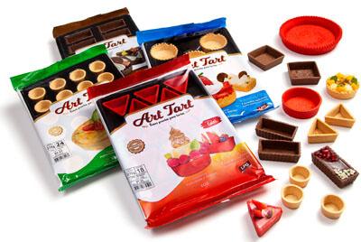 Embalagens Art Tart - Doce, Salgada, Chocolate e Linha Color